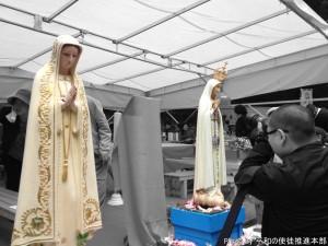 2体の聖母像
