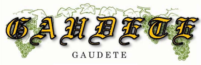 GAUDETE_logo